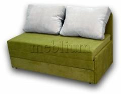 Диван Омега 140-41 вариант обивки: весь диван - КОРДРОЙ 215, ПОДУШКИ - КОРДРОЙ 230 (EXIMTEXTILL).