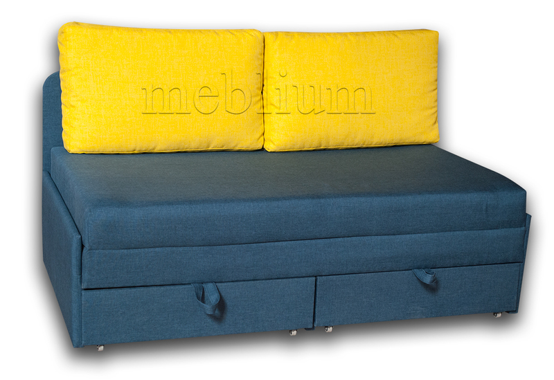 Диван Омега 160 -42 ТАКЖЕ ЭТУ МОДЕЛЬ ЗАКАЗЫВАЛИ В ТКАНИ : весь диван -Саванна джинс 16, подушки - Саванна Лемон 20