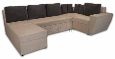 Угловой диван Цезарь-42 Филипио, подушки - ТС 662