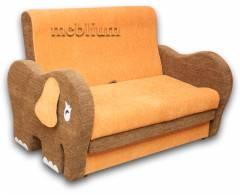 Дитячий диван Слоник 1,2-52 ТАКОЖ ЦЮ МОДЕЛЬ ЗАМОВЛЯЛИ В ТКАНИНI: