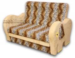 Дитячий диван Слоник 1,4-52 ТАКОЖ ЦЮ МОДЕЛЬ ЗАМОВЛЯЛИ В ТКАНИНI:
