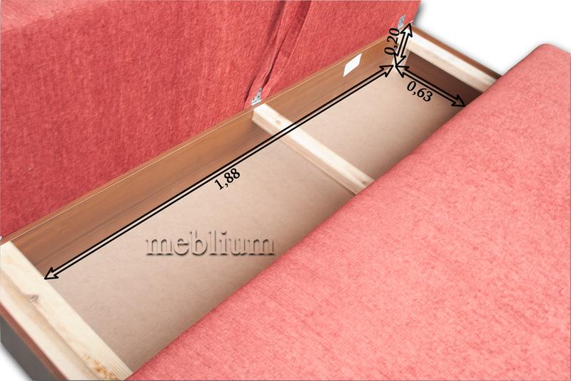 Софа Соло-12 Размеры ниши для белья:
