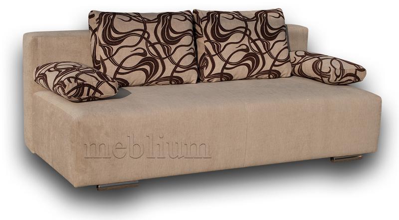 Софа Соло-12 ТАКЖЕ ЭТУ МОДЕЛЬ ЗАКАЗЫВАЛИ В ТКАНИ :  диван - индина 1В, подушки - индина 1А.