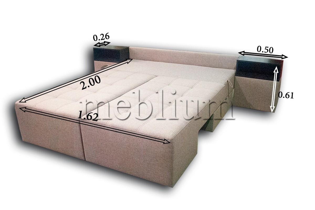 ПРОДАНО (можно под заказ) Диван трансформмер Meblium 20 -12 Savanna_Latte Спальное место
