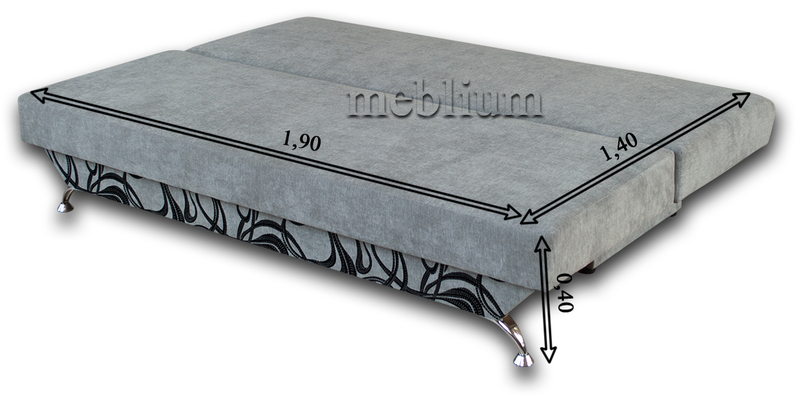 Диван Meblium 30-3 торос Диван Meblium 30-3 в разложенном виде: