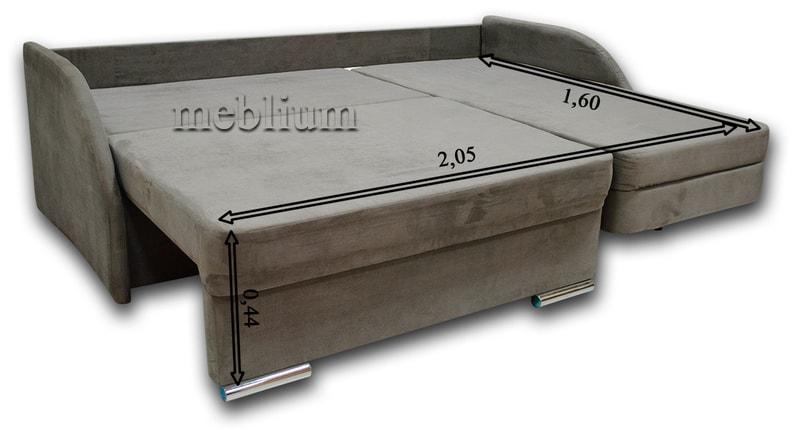 Угловой диван Майа 1.60 (нов) -42 Габаритные размеры спального места