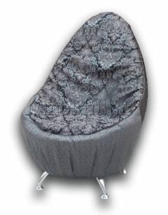 Банкетка Трон-9 Варіант 6: Чорний + Маленькі квіти
