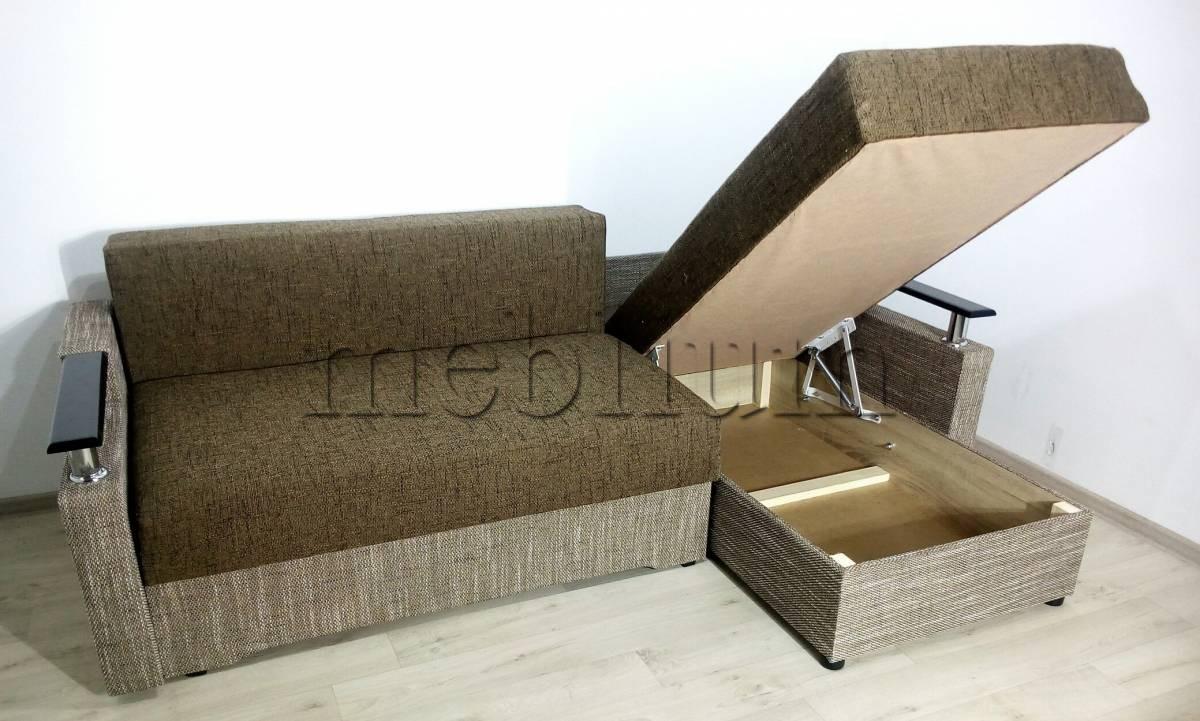 Угловой диван Магнолия универсал -3 Svetlokor Ниша для белья
