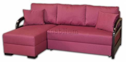 ПРОДАНО (МОЖНО ПОД ЗАКАЗ) Угловой диван Аспект-12 Тетра Берри Вариант обивки: Тетра Берри
