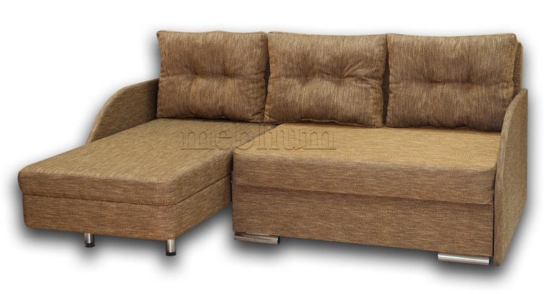 Угловой диван Майа 1.60 (нов) -42 ТАКЖЕ ЭТУ МОДЕЛЬ ЗАКАЗИВАЛИ В ТКАНИ: весь диван - Лючия 623