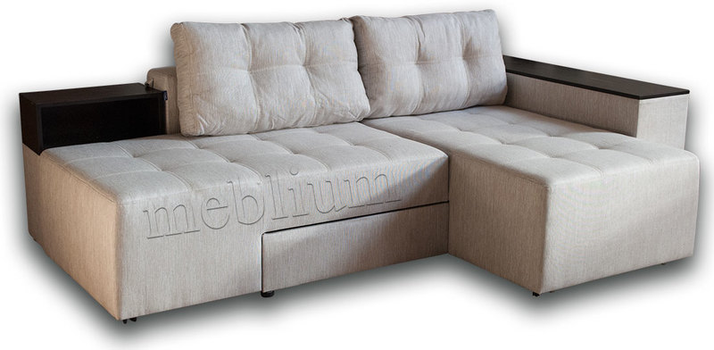 Угловой Диван Meblium 19 -12 Savanna_Biter ТАКЖЕ ЭТУ МОДЕЛЬ ЗАКАЗЫВАЛИ В ТКАНИ :  весь диван - Лугано крем