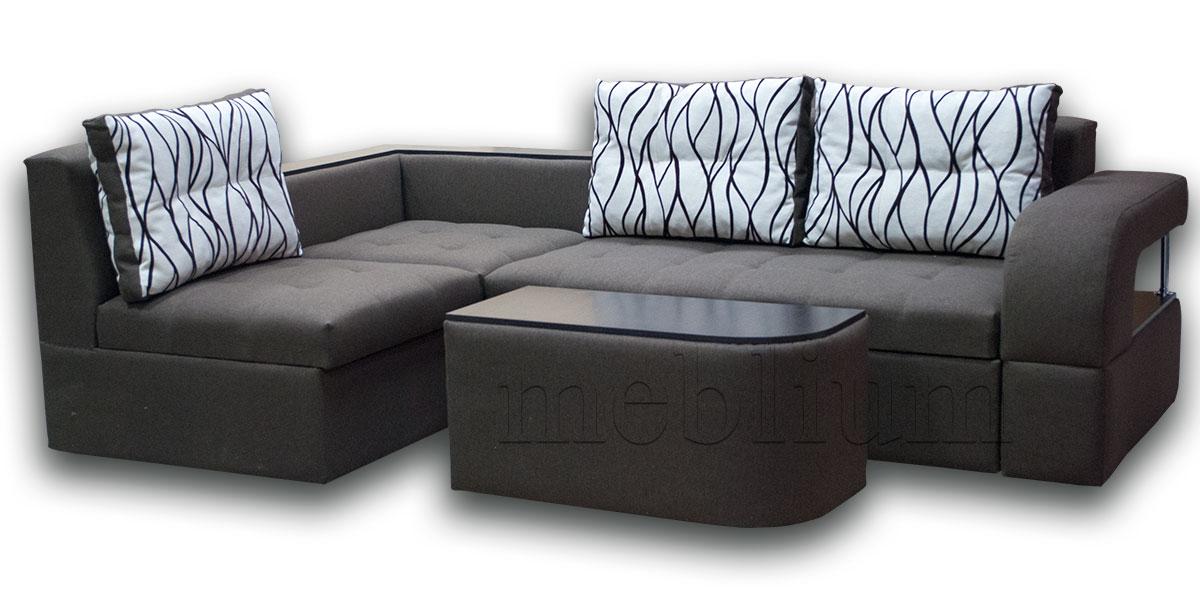 Угловой диван Голливуд -76 ТАКЖЕ ЭТУ МОДЕЛЬ ЗАКАЗЫВАЛИ В ТКАНИ : весь диван - Луминс 39