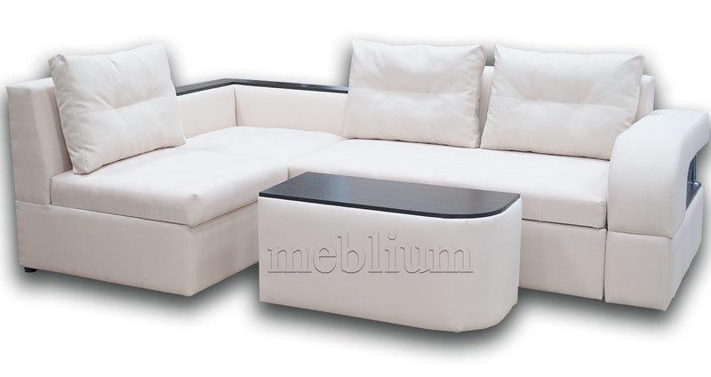 Угловой диван Голливуд -76 ТАКЖЕ ЭТУ МОДЕЛЬ ЗАКАЗЫВАЛИ В ТКАНИ : весь диван - Нео Крем