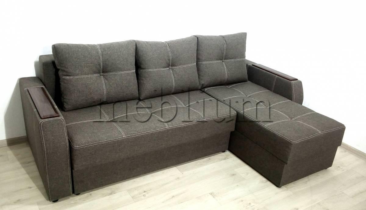 Угловой диван Браво универсал -3 Ткань: Savanna_Sira