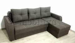 Угловой диван Брависсимо универсал -3 Savanna_Cofe Ткань: Savanna_Cofe