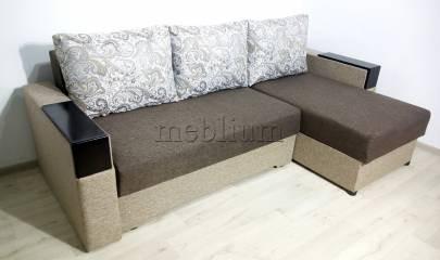 Кутовий диван Магнолія універсал -3 Тканина: Bezh