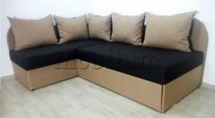 Угловой диван Нежность -28 Ткань: Bahama_Biter_Bahama_Bezh
