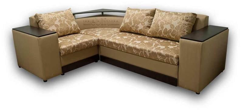 Кутовий диван Вашингтон New-10 ТАКОЖ ЦЮ МОДЕЛЬ ЗАМОВЛЯЛИ В ТКАНИНI: основа - стелла бєж, координат - германо голд (Артекс).