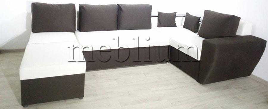 Угловой диван П-образный Цезарь -42 Ткань: Epika