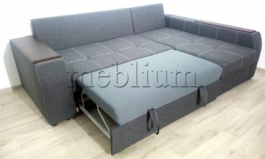 Угловой диван Лорето (+быльце ниша) -3 Спальное место