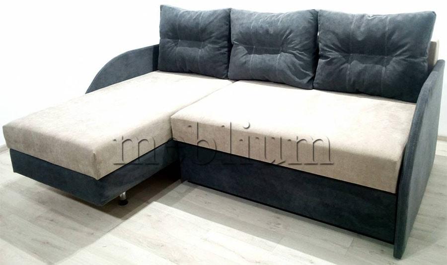 Угловой диван Майа 1.60 (нов) -42 ТАКЖЕ ЭТУ МОДЕЛЬ ЗАКАЗИВАЛИ В ТКАНИ: основа - ТС 662, координат - ТС 661