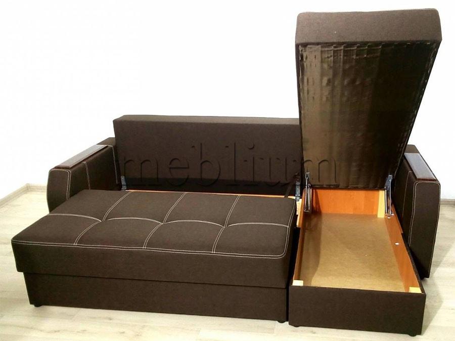 Угловой диван Брависсимо универсал -3 Ниша для белья