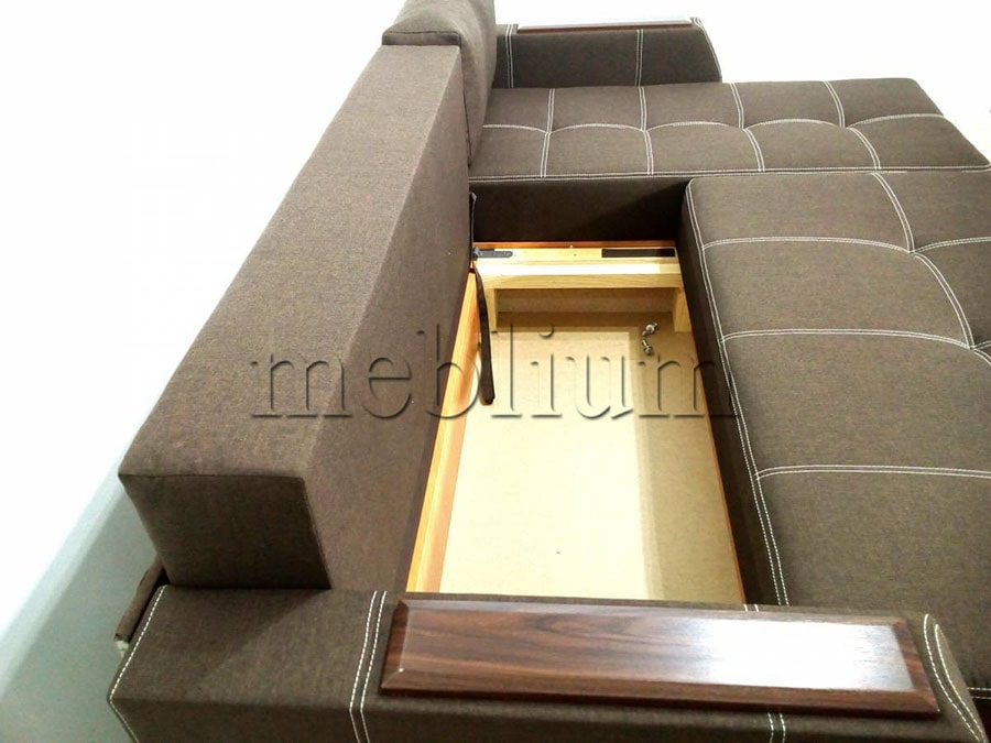 Угловой диван Брависсимо универсал -3 Ниша для белья ближе