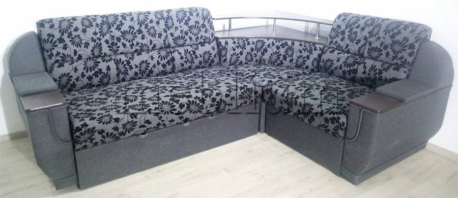 Угловой диван Эксо универсал -64 Ткань: Zita_Lux