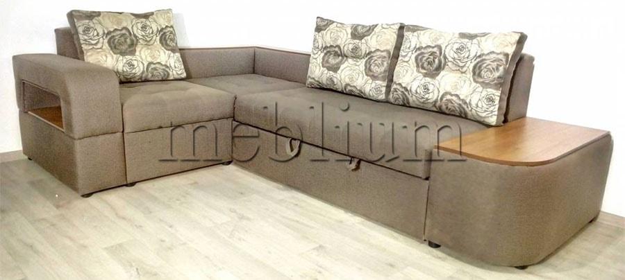 Угловой диван Голливуд -76 Ткань: Bahamma_Saten