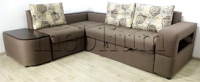 Угловой диван Голливуд -76 Bahama_Pebl_Saten