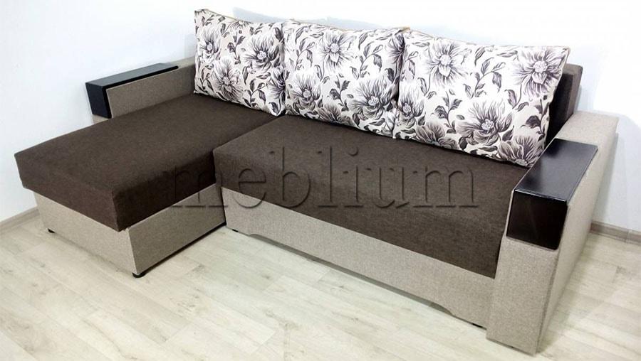 Угловой диван Орхидея универсал -3 Ткань: Svetlokor