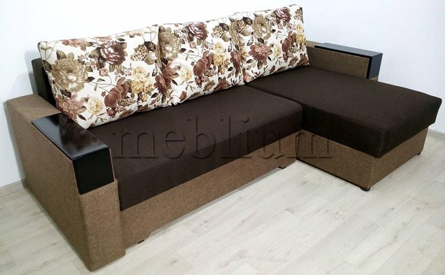 Угловой диван Орхидея универсал -3 Ткань: Bezh