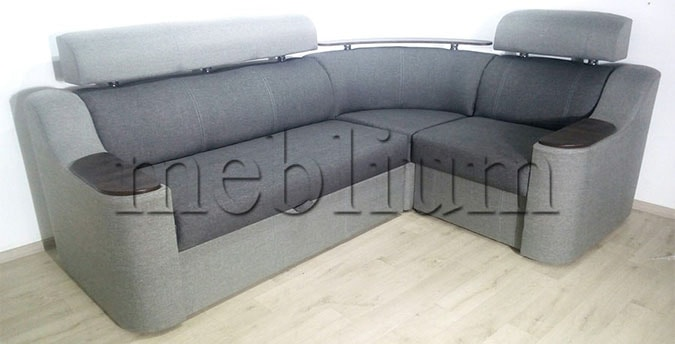 Угловой диван Марс универсал -3 Lux_Seryj