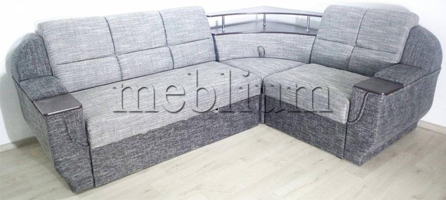 Угловой диван Эксо универсал -64 Ткань: Bavarija