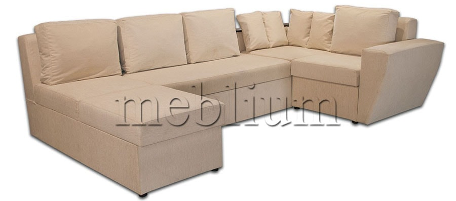 Угловой диван П-образный Цезарь -42 ТАКЖЕ ЭТУ МОДЕЛЬ ЗАКАЗЫВАЛИ В ТКАНИ : весь диван филипо