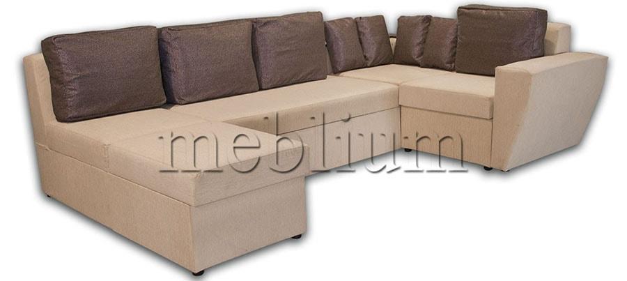 Угловой диван П-образный Цезарь -42 ТАКЖЕ ЭТУ МОДЕЛЬ ЗАКАЗЫВАЛИ В ТКАНИ :   филипо весь, подушки спринг 06
