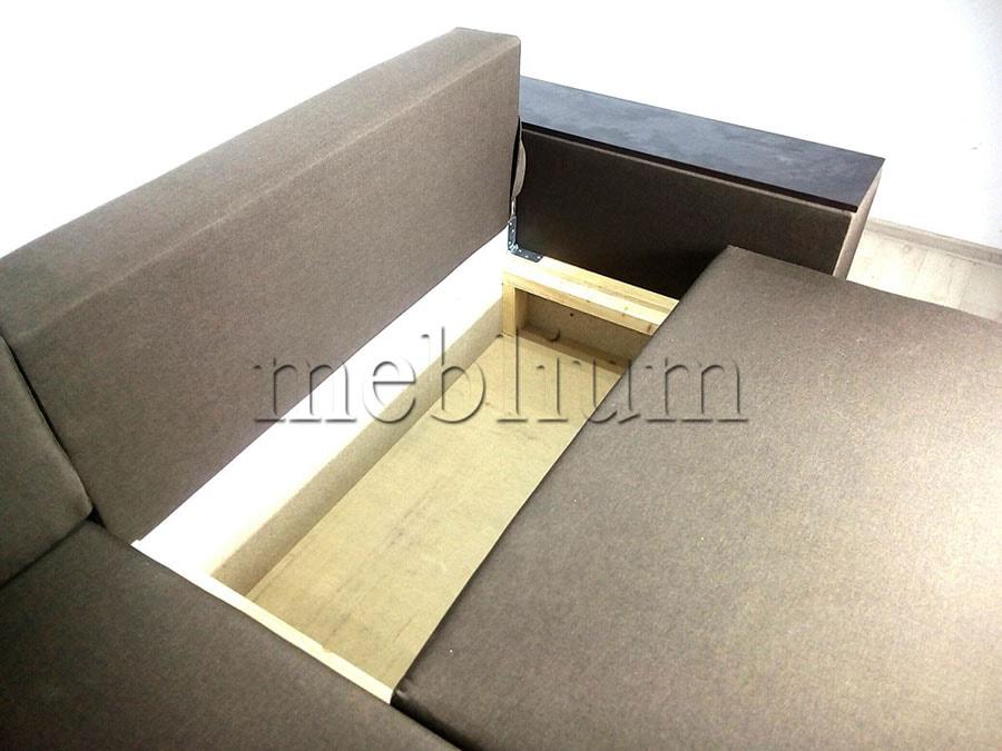 Угловой диван Мастер -89 Ниша для белья 2