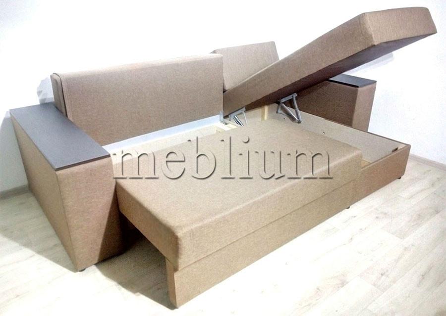 Угловой диван Мастер -89 Ниши для белья