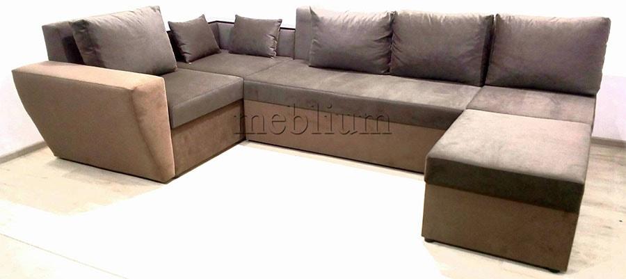 Угловой диван П-образный Цезарь -42 ТАКЖЕ ЭТУ МОДЕЛЬ ЗАКАЗЫВАЛИ В ТКАНИ: Шаги кофе + Шаги биттер