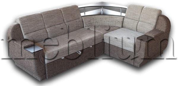 Угловой диван Эксо универсал -64 Ткань: Бавария