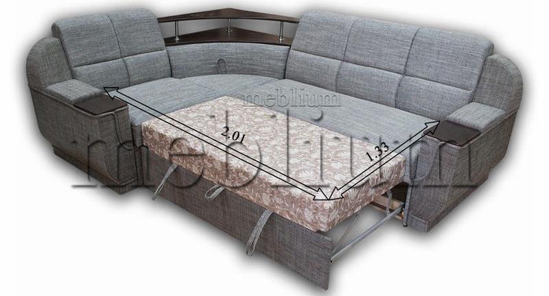 Угловой диван Эксо универсал -64 Спальное место