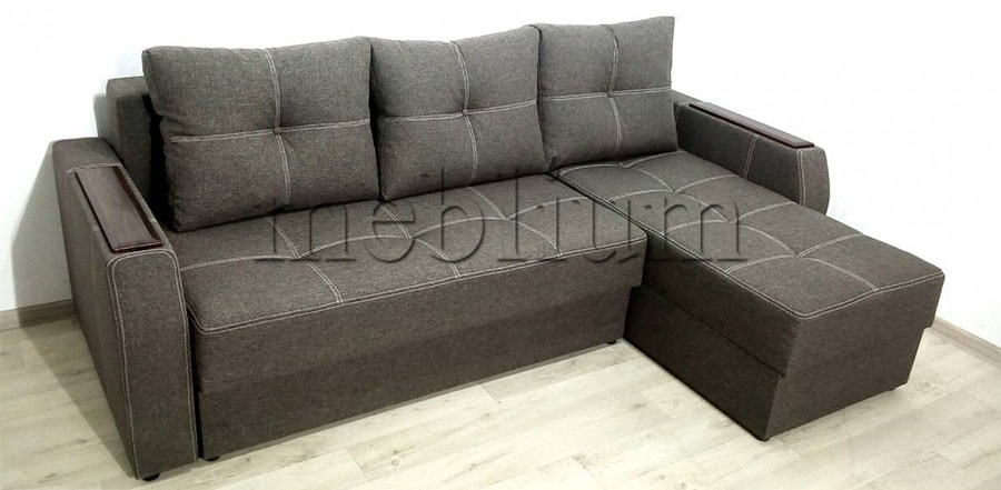 Угловой диван Брависсимо универсал -3 Ткань: Coffe