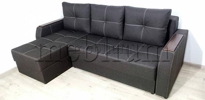 Угловой диван Брависсимо универсал -3 Ткань: Grafit