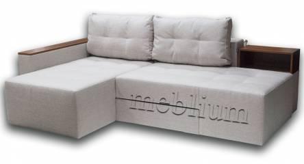Угловой Диван Meblium 18 -12 ТАКЖЕ ЭТУ МОДЕЛЬ ЗАКАЗЫВАЛИ В ТКАНИ :: весь диван - Хюго Крем