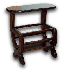 Журнальний стіл Арбен-76 Журнальний столик Арбен-76 горіх темний